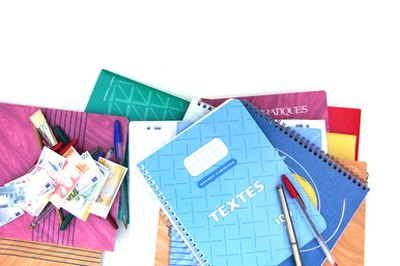 Instruct students to operate an in-house store selling school supplies.