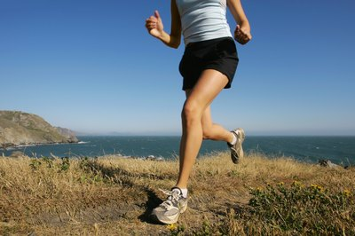 Running faster than normal can make your thighs burn.