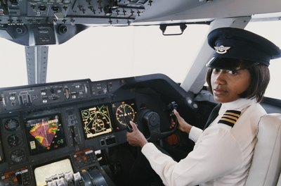 Courses needed for pilot training schools include mathematics and geography.