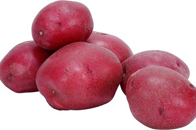 Red potatos are an excellent source of fiber.
