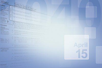 Federal tax returns are due on April 15, unless that day falls on a weekend or holiday.