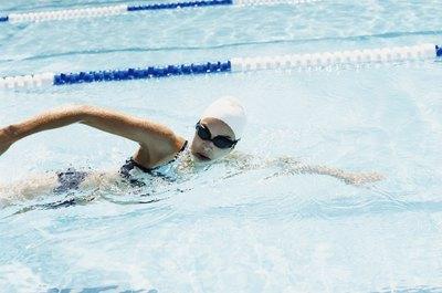 Swimming sidestroke puts less strain on the wrist.