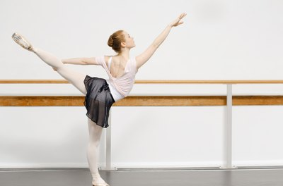 Use ballerina exercises to reshape your body.