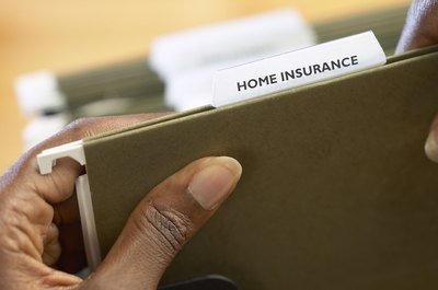 Homeowners insurance likely will cover damage to your own home.
