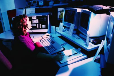 911 dispatchers have a non-sworn role.