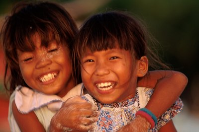 Social workers can help Philippine children access resources.