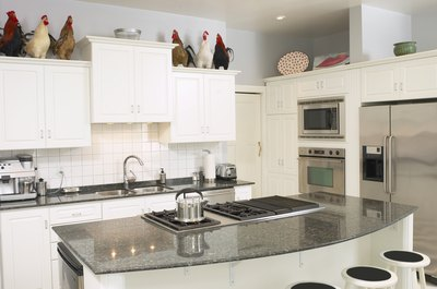 Stainless steel appliances can modernize your home.