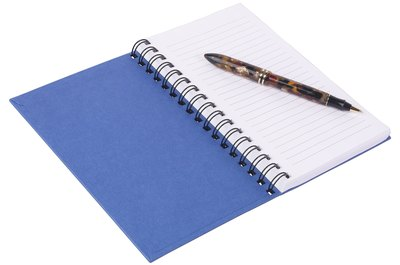 A regular notebook could be the key to more intense fitness.
