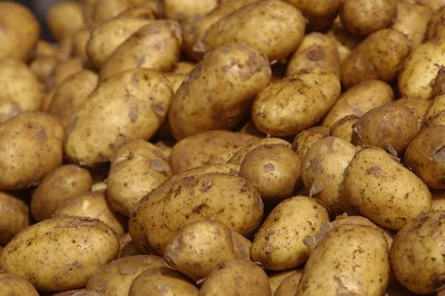 Potatoes are a good source of vitamins and minerals.