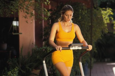 Get fit and slim with treadmill workouts.