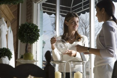 Wedding planners use negotiating skills in order to work with vendors.