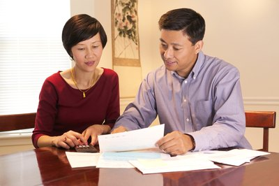 Co-signers share the responsibility for a mortgage.