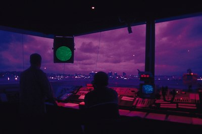 Working conditions for an air traffic controller are not easy.