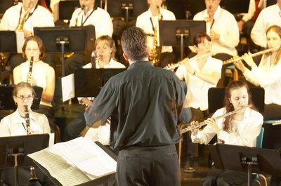 Band directors need a music performance experience and a degree in music education.