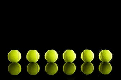 Dribbling a tennis ball can greatly improve your ball handling skills.