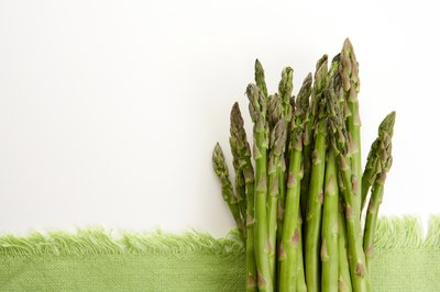 Asparagus is a highly variable source of iodine.