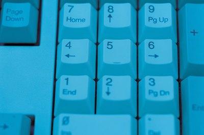 Ten-key data entry inputs numeric data.