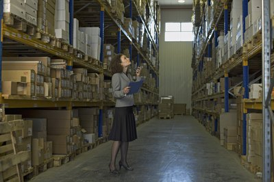 Keeping up with inventory can be a hands-on job, although software helps you track it.