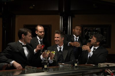 Male bonding often peaks during bachelor parties.