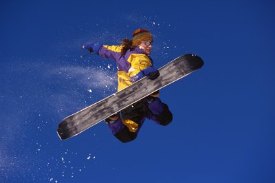 With the right snowboard for your weight, you'll be able to soar.