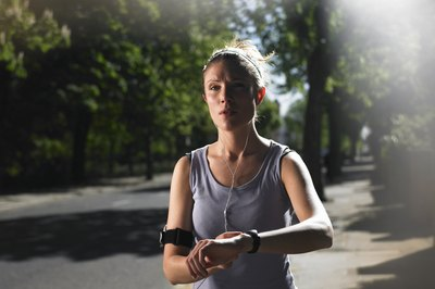 Bring your stopwatch to when interval training outdoors.