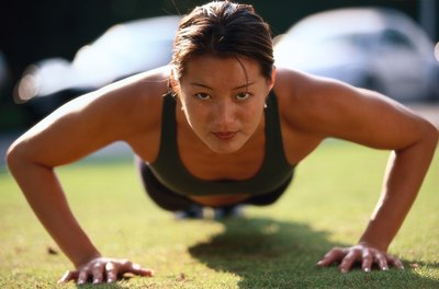 The pushup is one of the best exercises for overall fitness.