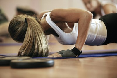 Tone up with at-home workouts sans exercise equipment.