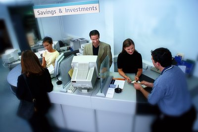 Banks use customer deposits to make loans and invest in securities.