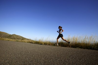 Running hills is an excellent way to get a cardio incline workout.