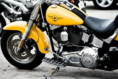 You can finance a motorcycle through a bank, dealership or even an investment firm.