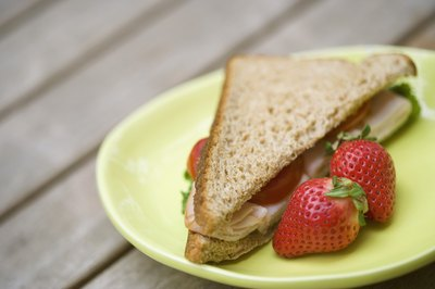 A diet rich in whole grains, fruits and vegetables may help prevent constipation.