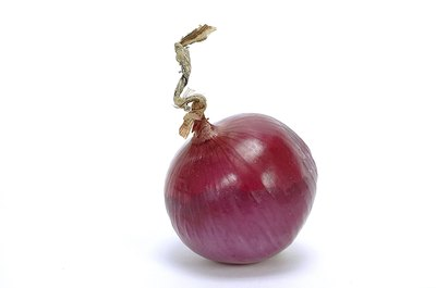 Red onions contain significant health promoting compounds.