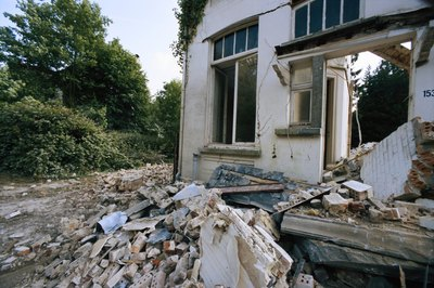 Get repair estimates before bidding on abandoned property.