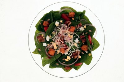 The iron in spinach is more bioavailable when the veggie is lightly cooked.