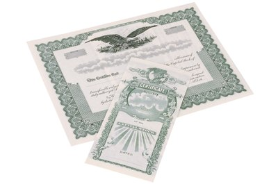 Some companies offer paper stock certificates as proof of ownership.