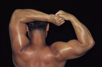 Overbuilding your upper arms can affect range of upper arm motion.