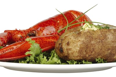 Lobster is naturally high in cholesterol.