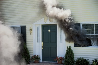 Homeowner insurance covers both smoke and fire damage.