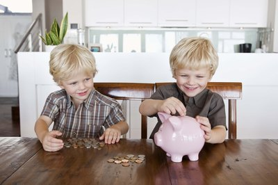Children can use piggy banks to save their money, but the law puts certificates of deposit off limits.