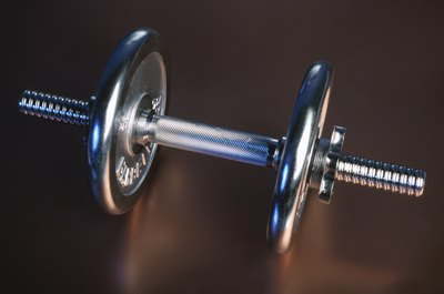 Snatches can be done with a barbell, dumbbell or kettlebell.
