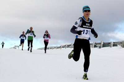 A winter triathlon is a special challenge.
