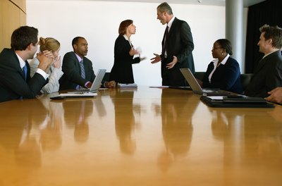 Executive conflict can lead to employee conflict if it's not brought under control.