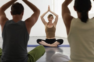Taking yoga classes may benefit your health.