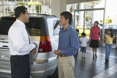 A trade-in greatly increases the ways a dealer can make money from selling you a car.
