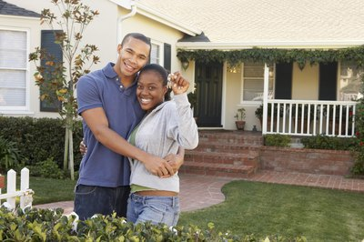 The keys to your new house aren't delivered until escrow officially closes.