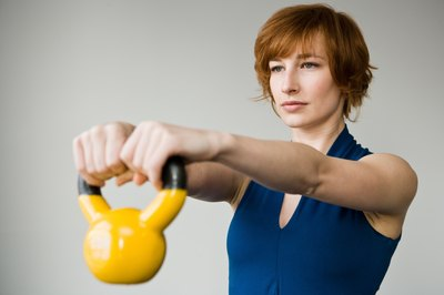 The kettlebell is a versatile tool for sculpting shapely glutes.
