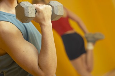 Strength-training can firm and tone biceps at any age.