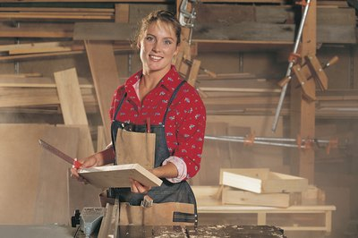 Women are a minority in the trades, but acceptance is growing.