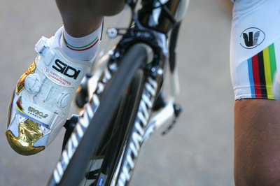 Cleats allow you to pull on your pedaling upstroke.