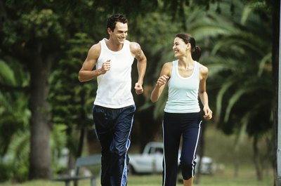 Convince your husband to run with you a couple of times per week.